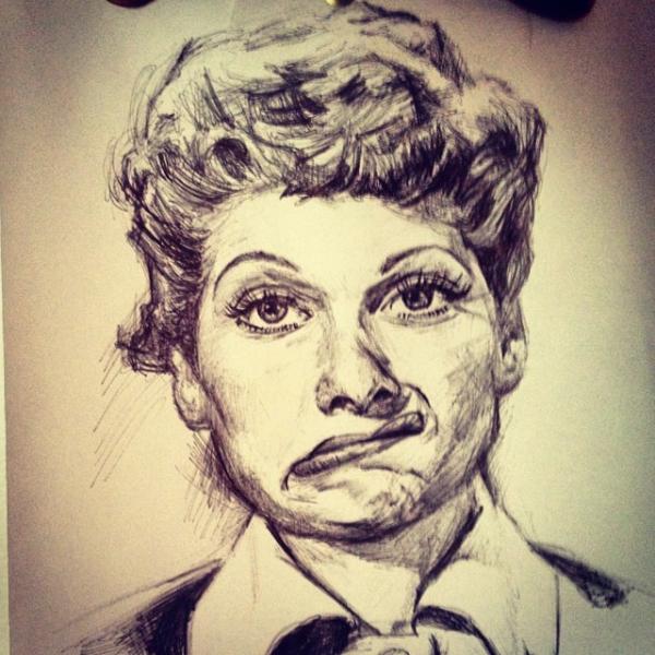 Lucille Ball par billyhjackson